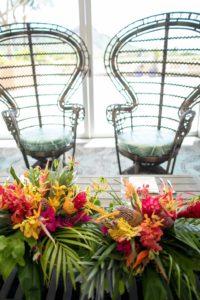 結婚式 ウエディング お花 ハワイ トロピカル