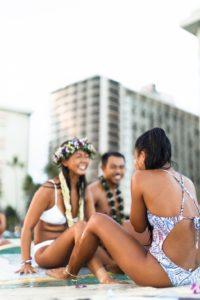 ハワイ挙式 サーフィン 海 結婚式 コロナ
