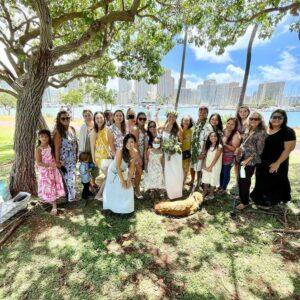 自宅 結婚式 ハワイ